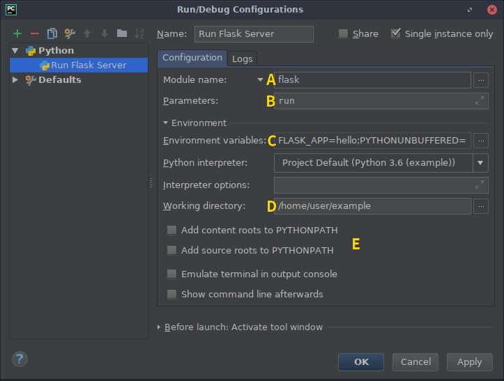 Command Line Interface — Flask Documentation (1 1 x)